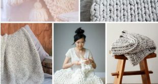 11 Cozy Chunky Blankets You'll Want to Knit This Weekend