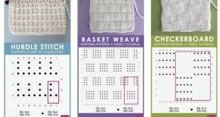 How to Read a Knitting Chart for Absolute Beginners