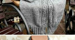 Raglan Knit Long Cable Cardigan - Free Pattern (Beautiful Skills - Crochet Knitting Quilting)