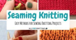 Seaming Knitting 101: 7 Methods for Seaming Your Knitting