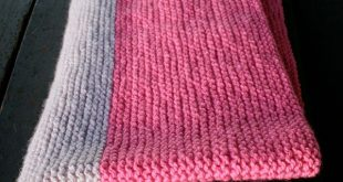 Super Easy Crib Blanket in Worsted Twist