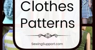 1300+ Free Clothing Patterns