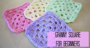 How to crochet a granny square for beginners | Bella Coco - YouTube .........YES...