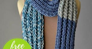Everyone's Favorite Scarf Free Knitting Pattern