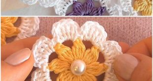 Crochet Flower Patterns For Beginners - #Beginners #Crochet #Flower #forbeginner...