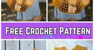 Crochet French Market Bag Free Crochet Pattern