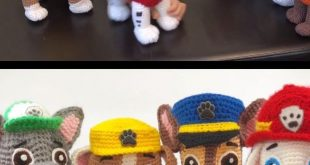 Crochet Paw Patrol Characters