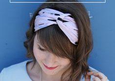DIY Tutorial: Sommerliches Turban-Haarband selber nähen
