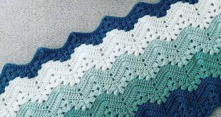[Easy] 6-Day Kid Blanket - Free pattern