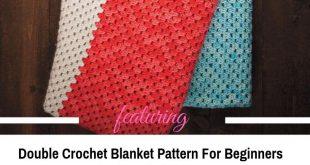 Easy All Double Crochet Blanket Pattern For Beginners