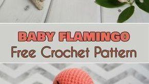 Flamingo Baby - Amigurumi Free Pattern - Kristin Nier