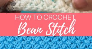 How to Crochet the Bean Stitch Video Tutorial