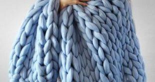 Jumbo Chunky Decorative Blanket