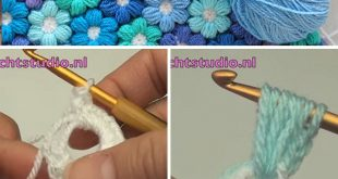 Puff Flower Crochet Pattern You Need To Learn