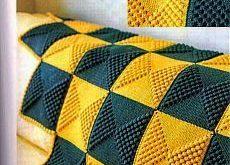 Wunderschöne Strickdecken.
